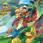 RPG『モンハン ストーリーズ』はターン制バトルに…物語や登場キャラも明らかに
