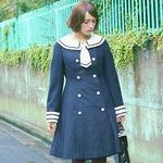 もしもアリスの通う学校があったら…「アリス×セーラー服」なツーフェイスコートが可愛い