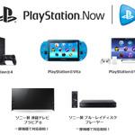 ブラビアとソニー製BDプレーヤーの一部が「PlayStation Now」に対応の画像