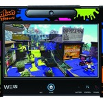 「シリコンカバーコレクション for Wii U GamePadスプラトゥーン Type-B」の画像
