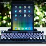 タイプライター型キーボード「Qwerkywriter」がクール!Bluetooth対応でスマホやゲーム機などで使用可能