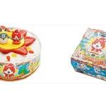 「妖怪ウォッチ」「プリキュア」が可愛いクリスマスケーキに…限定5000セット