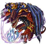 3DS版『モンスト』謎のモンスター「ロッゾ」登場…バトルでデッキを充実させて強敵に挑め!