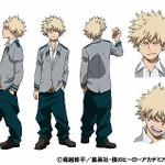TVアニメ「僕のヒーローアカデミア」爆豪勝己役は岡本信彦、設定画も公開