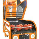 カーニバルゲームの王道、バスケットボールの画像