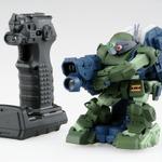 対戦可能な「装甲騎兵ボトムズ」のロボット玩具が登場!「ガガンガン」をベースに、大河原邦男描き下ろし武器・装備を搭載