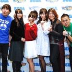 (左から)玉城俊幸、佐倉薫さん、山田奈都美さん、山田悠希さん、三木晶さん、長浜之人の画像