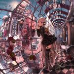 "JH最新作『真空管ドールズ』配信決定!3D反重力立体都市で""自作ドール""をカスタマイズし、縦横無尽のバトルに挑めの画像"