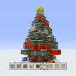 ブロックで再現された「マインクラフト クリスマスツリー」が東京赤坂サカスに登場、17日までの1週間限定