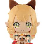 「ネコ嬢」がぬいぐるみに!一番くじ『モンハン クロス』1月下旬発売、アイルーフィギュアなども登場