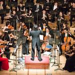 2015年2月開催されたフルオーケストラ演奏の様子の画像