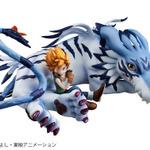 デジモン「ガルルモン&石田ヤマト」がフィギュア化、G.E.M.シリーズ最新作としての画像