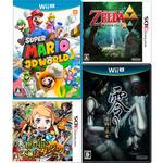 ニンテンドーeショップ、元日から新春セール開催!Wii Uと3DSの定番&名作30タイトルが30%オフ