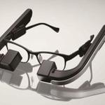 """メガネスーパーが""""メガネ型""""ウェアラブル端末「b.g.」を発表…眼への負担を考慮した設計の画像"""