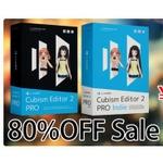 インディー向け『Live2D』が期間限定で80%OFFに!既購入者には『Cubism Editor 3 PRO』アップグレードを無料で