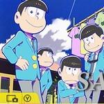 3DSテーマ「おそ松さん」配信開始、下画面はうごく壁紙に