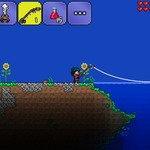スマホ版『テラリア』バージョンアップで「釣り」などが追加、iOS版は販売再開の画像