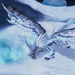 "『MHF-G』氷の始種""凍王龍トア・テスカトラ""公開! そのビジュアルや詳細に迫るの画像"