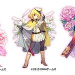 DMM『フラワーナイトガール』に新キャラクター3人が追加、専用装備がもらえるクエストも実装の画像