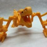 【日々気まぐレポ】第132回 咆哮シーンもバッチリキマる!「ほねほねザウルス×モンハン」ティガレックスで遊んでみたの画像