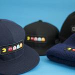 帽子メーカー「CA4LA」と『パックマン』がコラボ、ベースボールキャップとニットキャップの2型を発売の画像