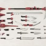 「フレームアームズ・ガール 迅雷」発売決定、デザイナーの島田フミカネによる「FA 轟雷」の改造作例がモチーフの画像