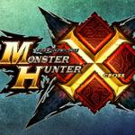『モンスターハンタークロス』タイトルロゴの画像