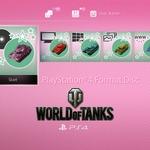 「ガルパン」のPS4テーマ無料配信開始!『World of Tanks』コラボのオリジナルデザインの画像