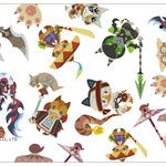 「cheero」×『モンハン』のモバイルバッテリーが2月下旬発売、デザインは全3種類でネコ嬢も登場の画像