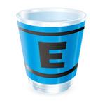 ロックマンくじ 【C賞】ロックマン E缶柄アクリルコップの画像