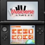 3DS向け作曲ソフト『Musicverse バーチャル キーボード』3月2日配信 ― 曲はQRコードとして生成、Miiverseで共有することもの画像