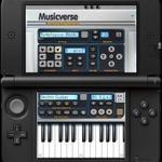 3DS向け作曲ソフト『Musicverse バーチャル キーボード』3月2日配信 ― 曲はQRコードとして生成、Miiverseで共有することも