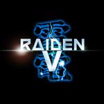 『雷電V』タイトルロゴの画像