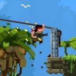 筋肉でテロ組織を壊滅させる『ブロフォース』PS4で配信開始!4人で遊べるガチムチ2Dアクションゲーム