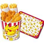 ケンタッキーに「ポケモン」関連商品が登場!ストローフィギュアやスマイルセットなどの画像