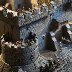 TRPG向けミニチュア城『Dwarven Forge's Castles』が超豪華!サンドボックスの様に組み立て可能