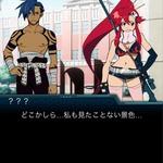 アニメ「フリージング」と「グレンラガン」がまさかのコラボ、スマホゲームで実現の画像