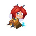 iOS/Android『ブロッサム・ブラスト』配信開始、『キャンディークラッシュ』のKing最新作の画像