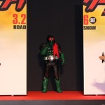 45年ぶりのマスクオフ姿!藤岡弘、再び「仮面ライダー1号」ライダースーツで参上の画像