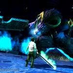 IBMによるアルファテスト版『ソードアート・オンライン』のゲーム画面とナーヴギアの写真をお届けの画像