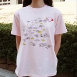 """Amazon限定の「星のカービィ Tシャツ」第3弾が登場、""""おえかきカービィ""""が実にキュートの画像"""
