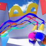 まっさらなハッピーセットを自分色に染めるVRデモ登場の画像