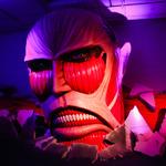 のっけから巨人に襲いかかられる!?上野の森美術館「進撃の巨人展」に潜入してみた