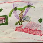 とあるゲームファンの少女、オリジナルキャラを考案し披露…公式がイラスト化