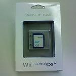 任天堂の「SDメモリーカード2GB」開封してみました