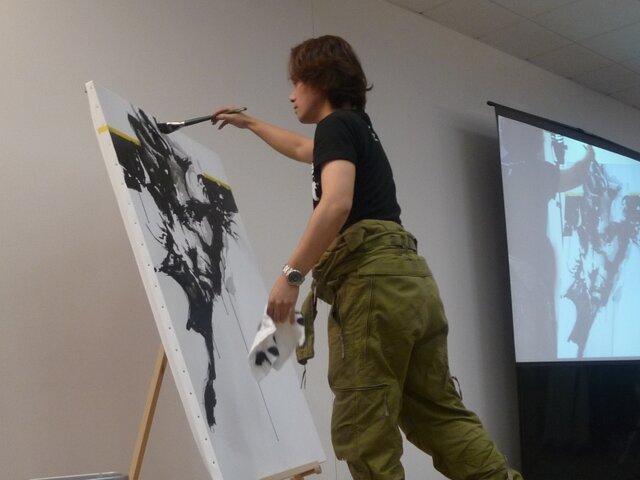 『MGS』のアートディレクター新川洋司による展示... 【画像】『MGS』のアートディレクター新