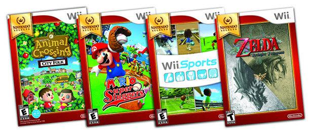 『ゼルダの伝説 トワイライトプリンセス』や『Wii Sports』などが海外で廉価版に?