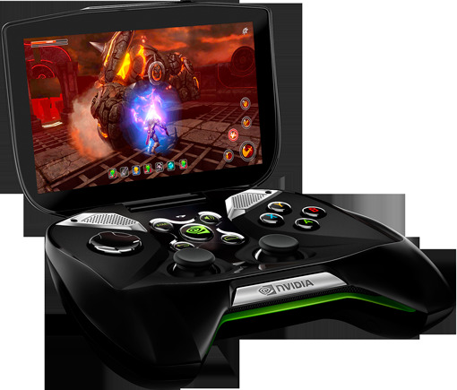 NVIDIA 新携帯ゲーム机Project SHIELD発表 AndroidとWindowsに対応