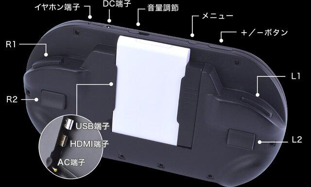 『PS Vita TV』専用コントローラ モニタ内臓でVita TVが携帯機になる画期的な機能を搭載!お値段なんと