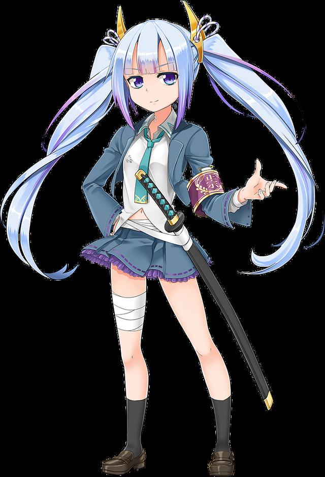 【画像】刀を美少女化したゲーム「しんけん!」が事前登録開始